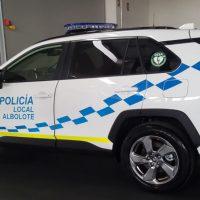 Albolote incorpora el cuarto coche patrulla para su Policía Local