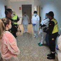 Diez muertos en la residencia de ancianos de Pinos Puente desde el inicio de la crisis del coronavirus