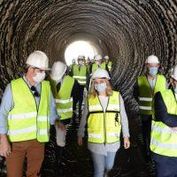 La obra de emergencia del Metro de Granada en Juncaril supera ya el 81% de su ejecución