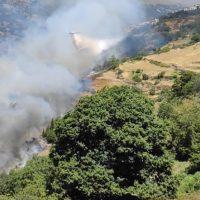 Activado el nivel 1 de Emergencias en el incendio de Bubión