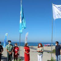 El Gobierno pide «responsabilidad» en las playas de Salobreña, que estrenan banderas de calidad