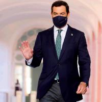 Juanma Moreno pide «responsabilidad» para evitar una tercera ola tras la Navidad
