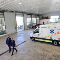 El nuevo vacunódromo del Parque Norte de Bomberos de Granada empezará a funcionar la semana que viene