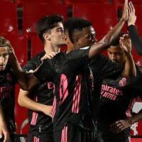 Granada-Real Madrid: Resultado, resumen y goles del partido de Liga (1-4)