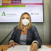 Material reciclado para asfaltar las carreteras en Granada