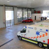 Ultiman el Parque Norte de Bomberos como segundo vacunódromo de Granada
