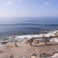 Cierran la playa de Castillo de Baños por la elevada concentración en sus aguas de bacteria E-Coli