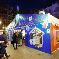 Bib Rambla recupera el tradicional mercado navideño de belenes