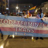 El colectivo LGTBI sale a la calle en Granada en repulsa por las agresiones sexuales y la transfobia